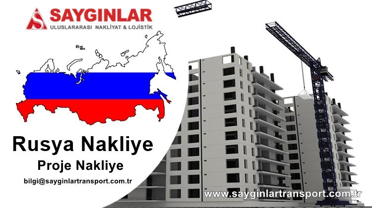 Rusya Nakliye İnşaat Malzemesi Taşımacılığı