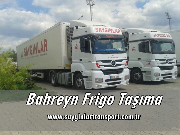 Bahreyn Frigo Taşımacılık