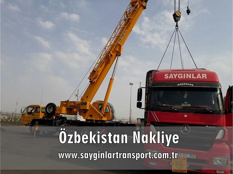 Özbekistan Nakliye