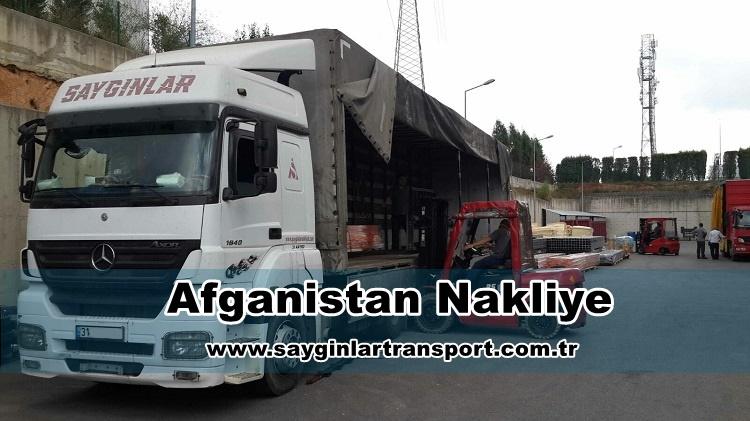 Afganistan Nakliye